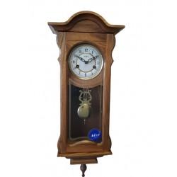 Zegar drewniany mechaniczny...